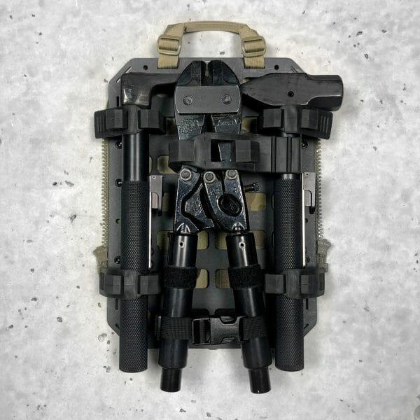 Breaching kit molle panel backpack
