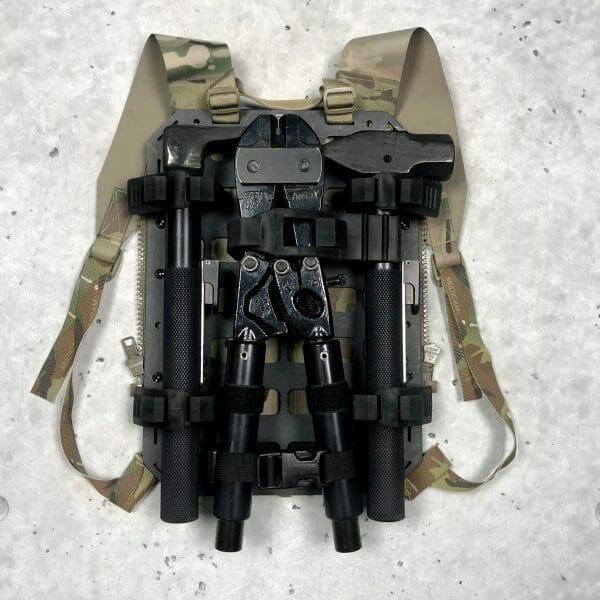 Breaching kit molle panel backpack Straps