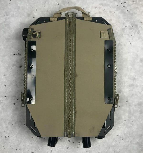 Breaching kit molle panel backpack back