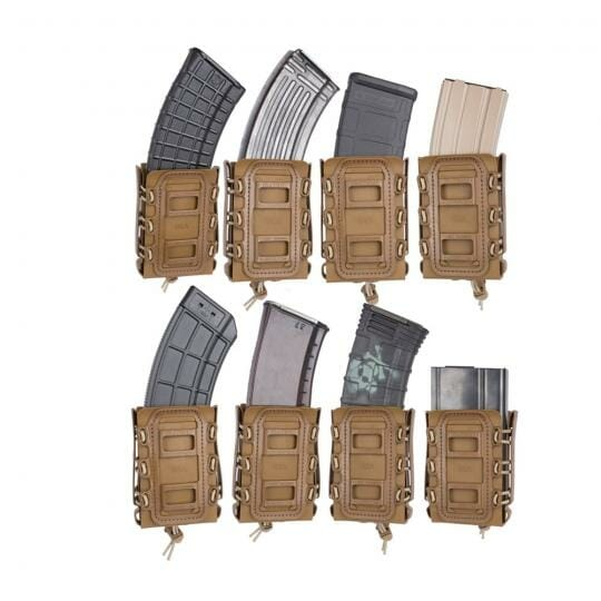 G-Code_Soft_Shell_Scorpion_Rifle_Mag_Carrier with differnt type of mags