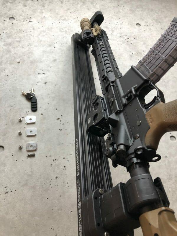 Locking Rifle Rack Kit - Raptor Rail Buffer Tube