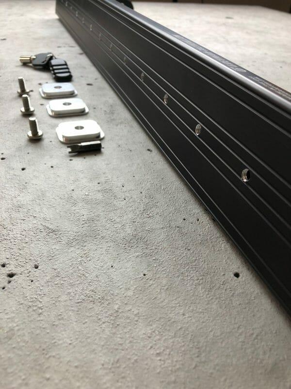 Locking Rifle Rack Kit - Raptor Rail Buffer Tube mounting holes