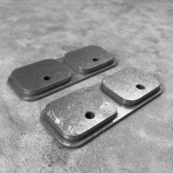 RMP Backer Plate [Locking Rifle Mount - Raptor Buffer Tube or Picatinny] Pair