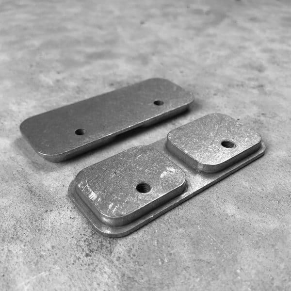 RMP Backer Plate [Locking Rifle Mount - Raptor Buffer Tube or Picatinny] Pair molle panel