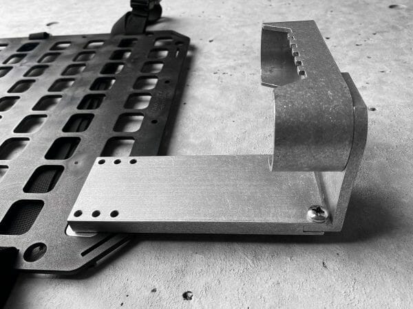 RMp Buttstock - 6 Extension attached to panel