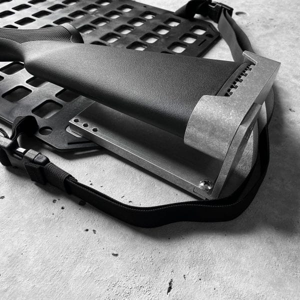 RMp Buttstock - 6 Extension with shotgun