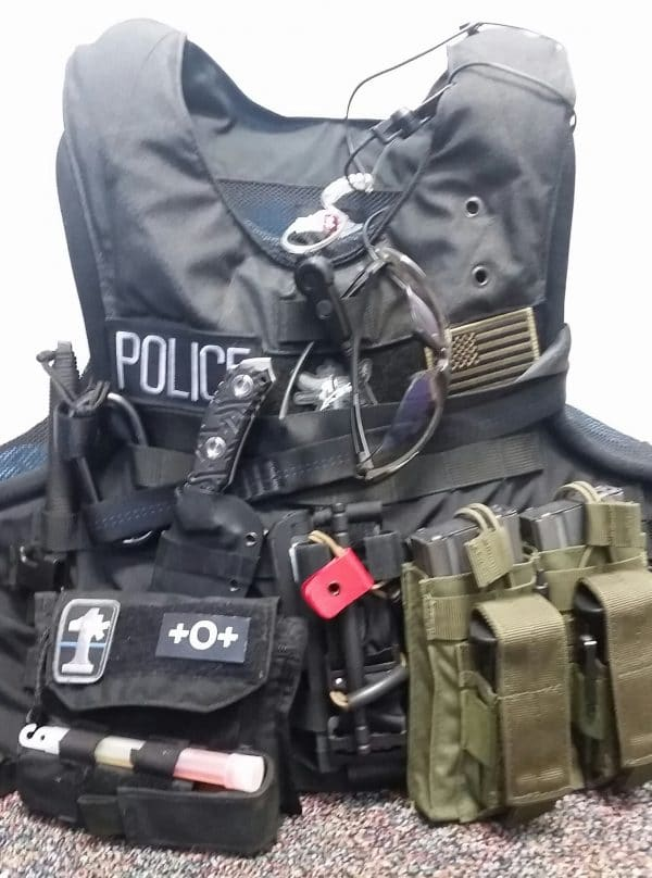 STRAP TQ Carrier police kit