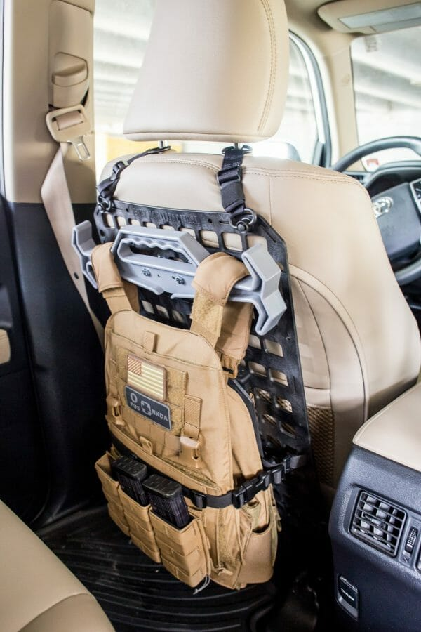 Tough Hook Kit [Plate Carrier] grey attached with kit on
