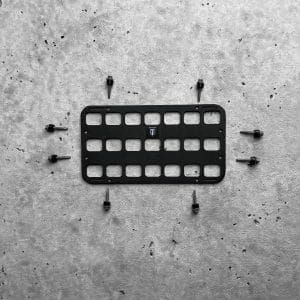 11 X 6 RMP™ - CONSOLE + DOOR + DASH molle panel with screws