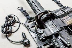 rifle locking kit for molle panels