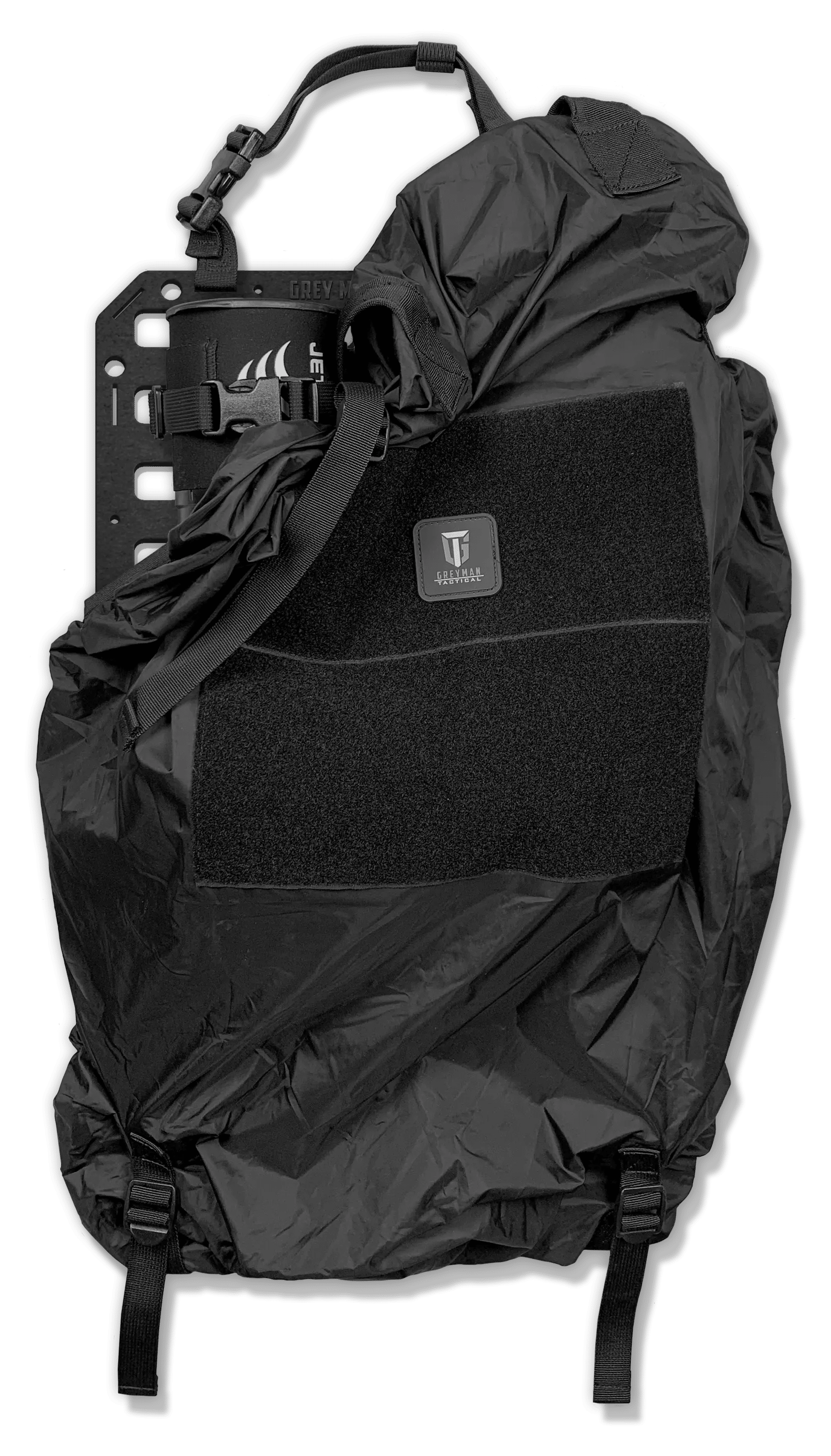 Cover for molle panel to hide your gear from people looking inside your vehicle